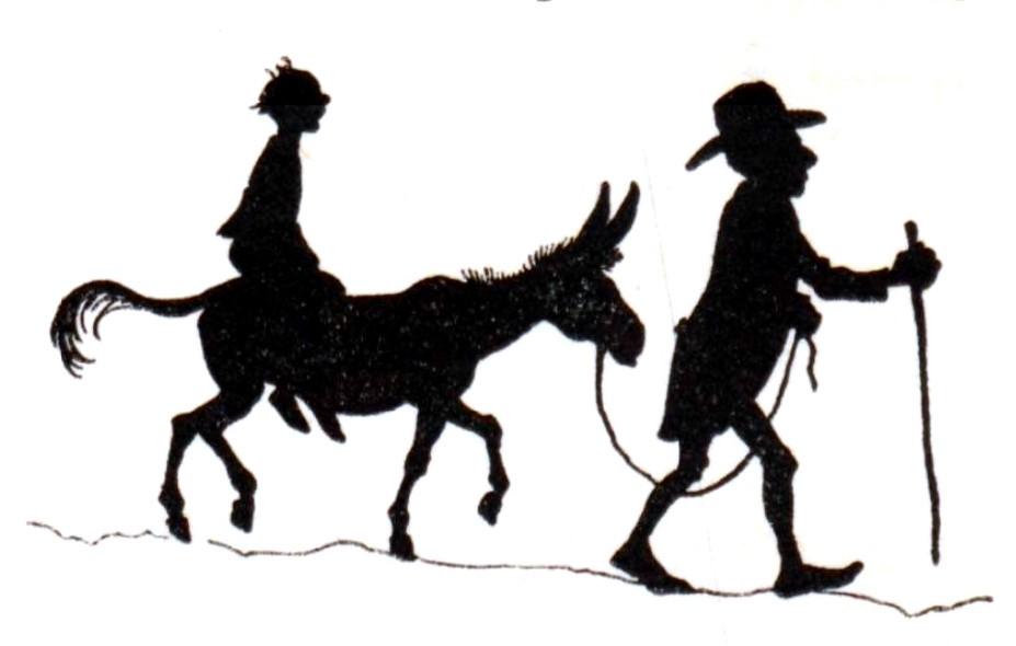 男, 乗る, ウォーキング, 挿絵 が含まれている画像  自動的に生成された説明